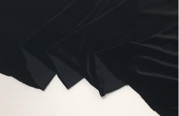 バーゲンセール 滑らかな肌触りと深みがある高級ベロアストレッチ性があります ストレッチベロア 150cm幅 布 2020 生地