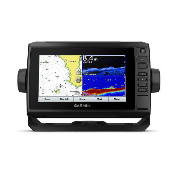 【予約商品】【送料無料】GARMIN ECHOMAP Plus 73cv With CV22HW-TM Transducer 振動子有り