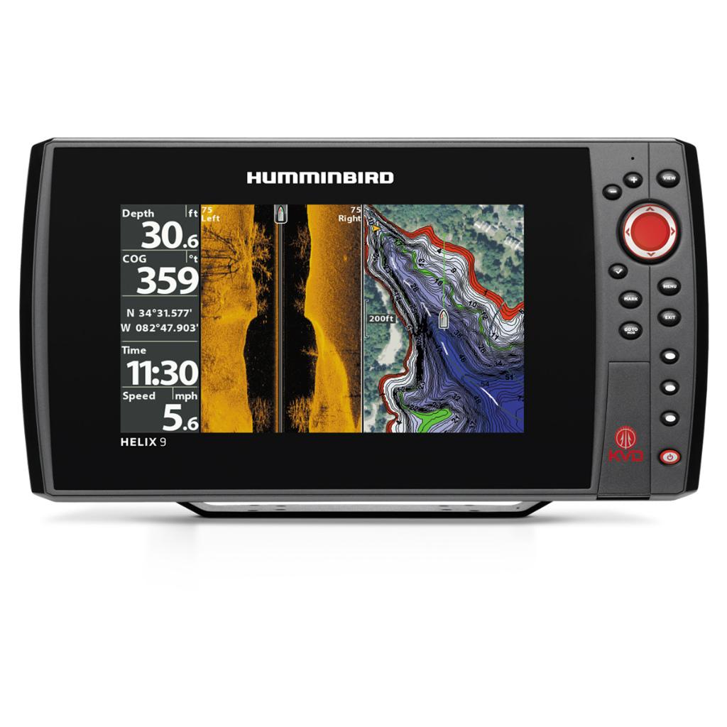納期注意 HUMMINBIRD ハミンバード HELIX 9 SI GPS KVD 送料無料メーカー取寄せ 納期約1か月程度 販促品 クリスマス会 母の日 無条件返品・交換