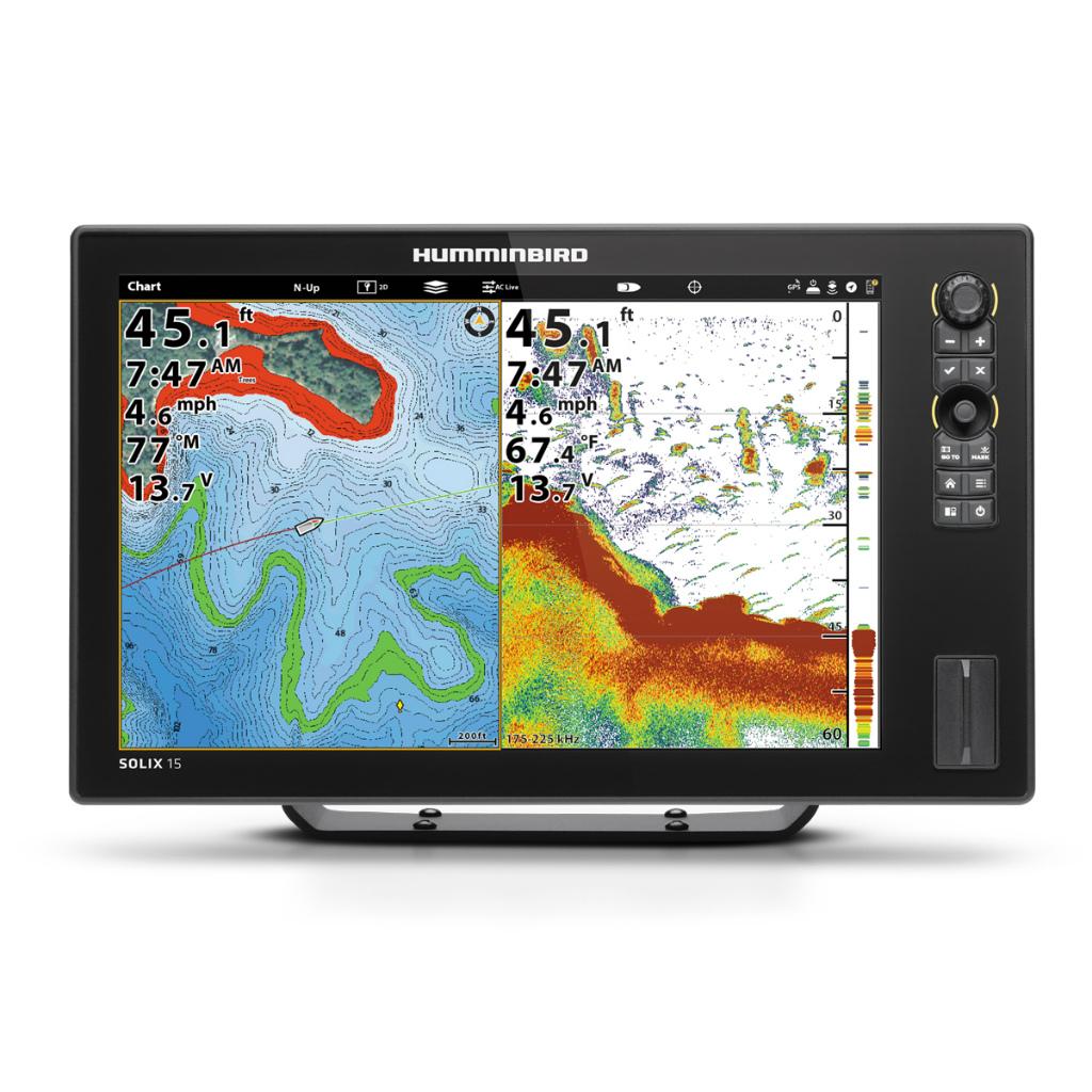 【エントリーで全品ポイント5倍!】【納期注意!】HUMMINBIRD ハミンバード SOLIX 15 CHIRP GPS 送料無料メーカー取寄せ。納期約1か月程度