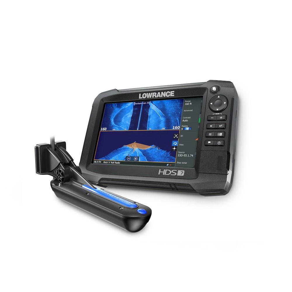 【エントリーで全品ポイント5倍!】【納期注意!】LOWRANCE ローランス HDS Carbon 7 CHIRP TotalScan振動子付 送料無料メーカー取寄せ。納期約1か月程度