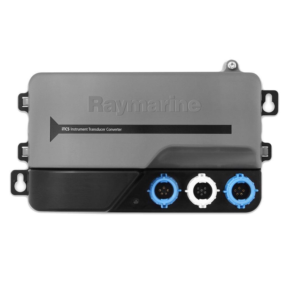 【エントリーで全品ポイント10倍!】【納期注意!】Raymarine レイマリン iTC-5 Instrument Transducer Converter 振動子コンバーター 送料無料メーカー取寄せ。納期約1か月程度
