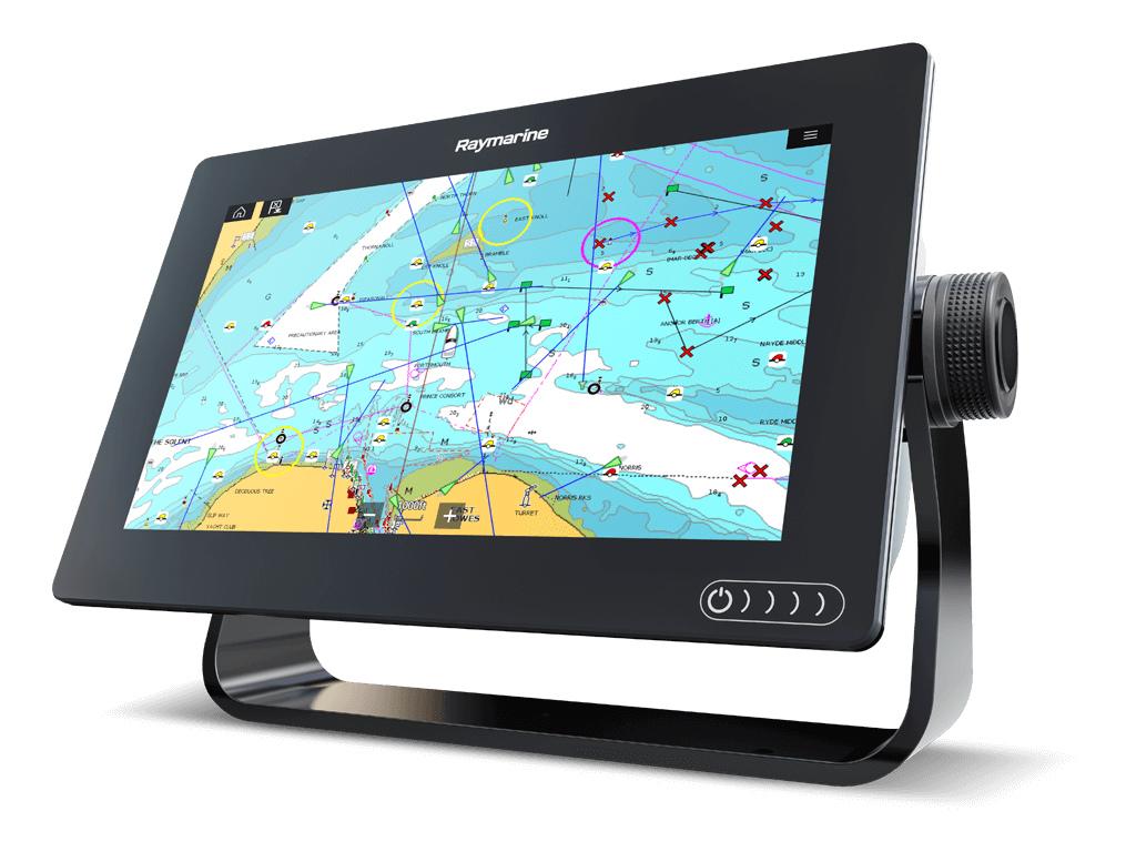 【予約商品】【送料無料】Raymarine レイマリン AXIOM 12 integrated RealVision, 600Wソナー&RV-100振動子付 LNC Charts