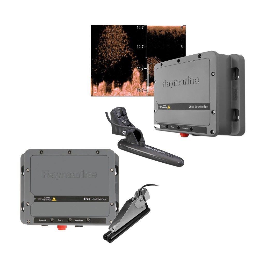【エントリーで全品ポイント10倍!】【納期注意!】Raymarine レイマリン CP100 & CP200 システムパック ダウン・サイドビジョン  振動子 送料無料メーカー取寄せ。納期約1か月程度