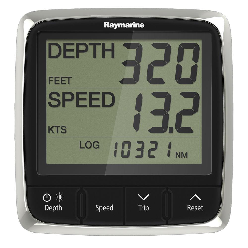【エントリーで全品ポイント5倍!】【納期注意!】Raymarine レイマリン i50 Tridata Pack, with P120 & P319 Speed/Temp/Depth スルハル振動子 送料無料メーカー取寄せ。納期約1か月程度