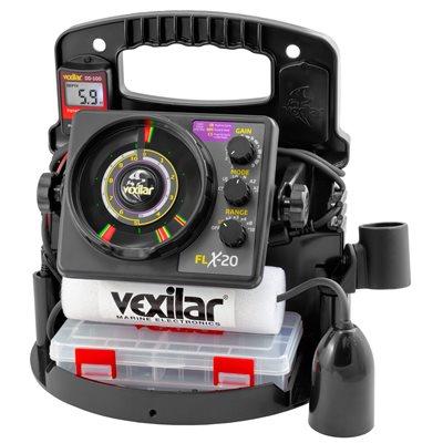 【エントリーで全品ポイント10倍!】【納期注意!】VEXILAR 魚群探知機 Pro Pack - FLX20 w / 12 Degree Ice Ducer & DD-100 送料無料メーカー取寄せ。納期約1か月程度
