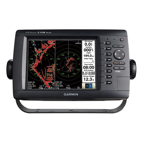 【納期注意!】GARMIN ガーミン GPSMAP 2108PLUS ジーピーエスマップ 日本語モデル 送料無料メーカー取寄せ。納期約1か月程度
