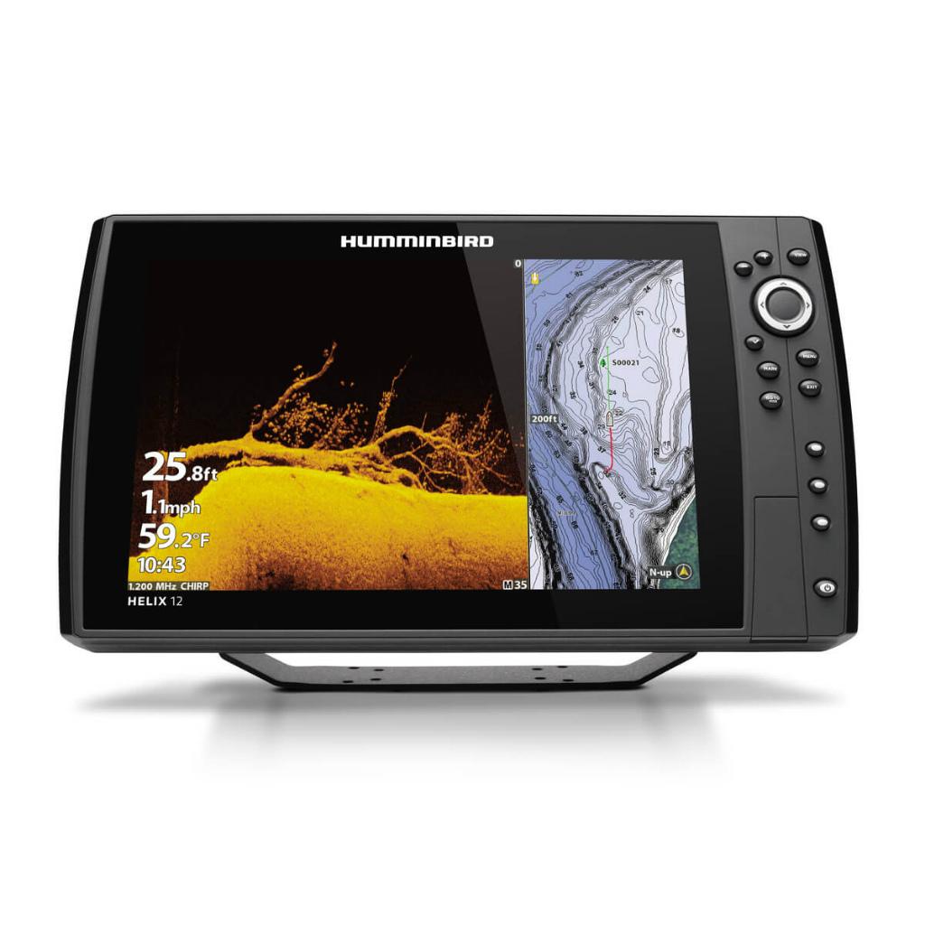 【納期注意!】HUMMINBIRD ハミンバード ヘリックス HELIX 12 CHIRP チャープ GPS G3N 送料無料メーカー取寄せ。納期約1か月程度