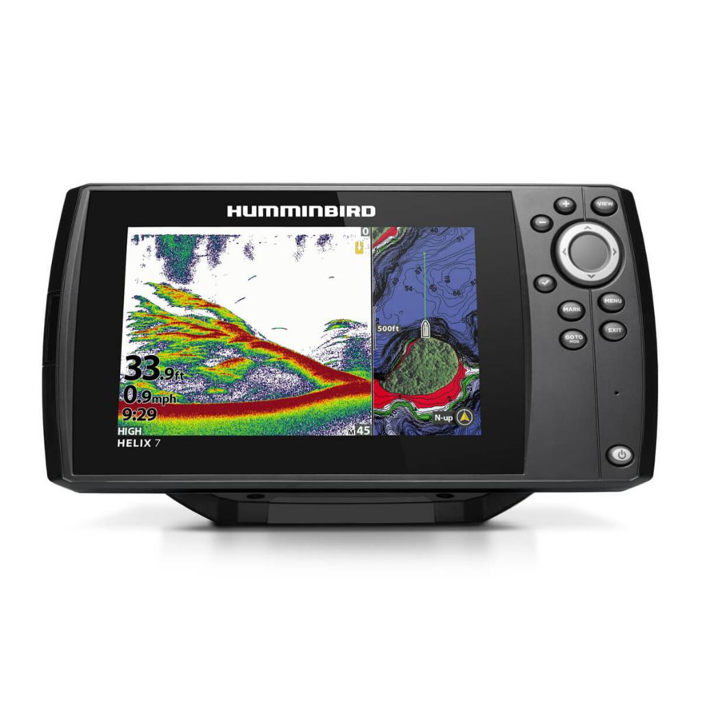 HUMMINBIRD ハミンバード ヘリックス HELIX 7 CHIRP チャープ MEGA SI GPS G3 送料無料メーカー取寄せ。納期約1か月程度