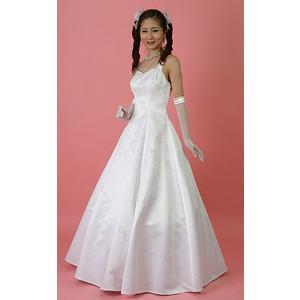ウェディングドレス (7号)色目:ホワイト/ウエディングドレス/ブライダル/結婚式 ドレス