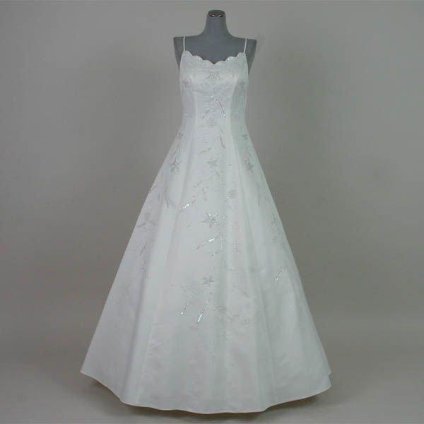 わけあり ウエディングドレス ホワイトドレス Aライン 演奏会 舞台衣装 白 7号