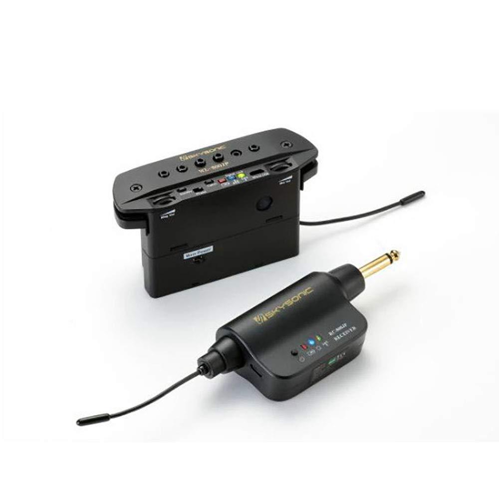加工いらず アコースティックギター用 ワイヤレス ピックアップ SKYSONIC WL-800JP 送料無料