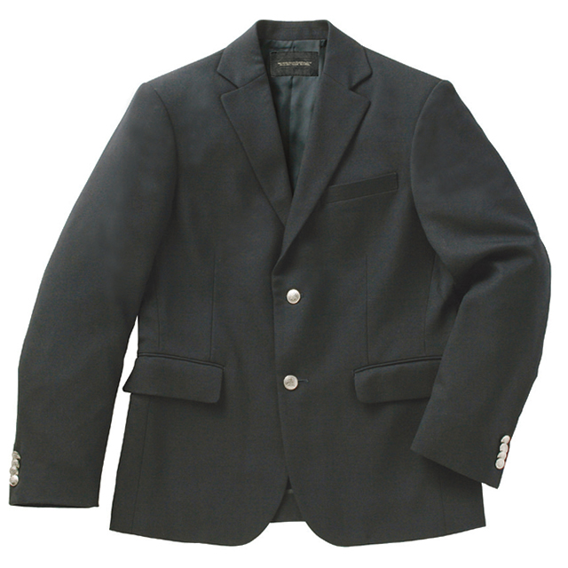 制服 ブレザー ベンクーガー インパクト 男子 ウール50%ポリエステル50% (チャコールグレー)