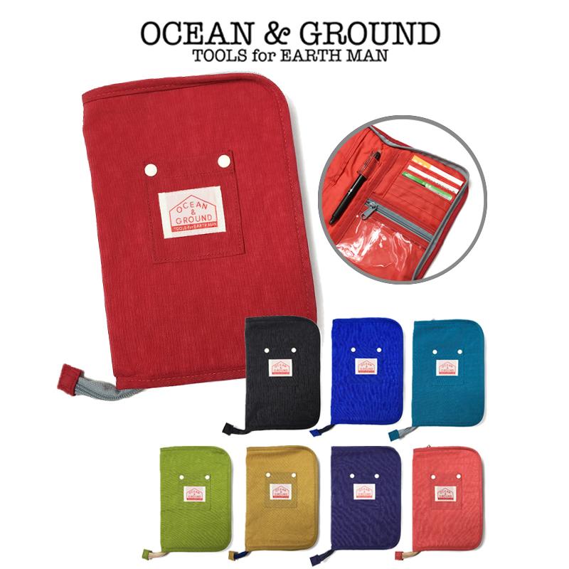 スッキリ収納 ポケットが多くたくさん入る母子手帳ケース お子様が大きくなってもマルチケースとして活用できます オーシャンアンドグラウンド 送料無料新品 Ocean 母子手帳ケース Ground マルチケース 高級品 1715909