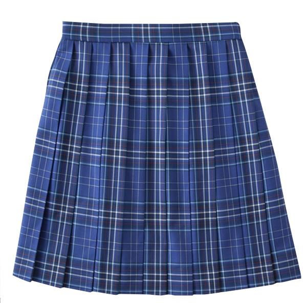 ロコネイル スカート ブルー チェック ROCONAILS