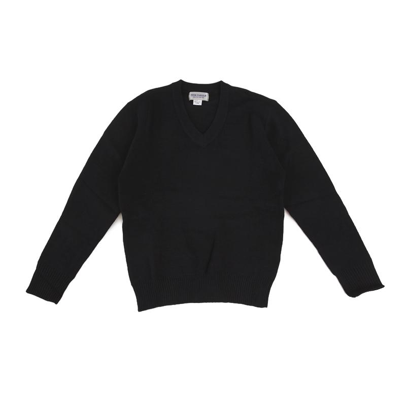 寒い時期の通学に最適なウール混ニットです。一枚あると便利。学生服スクールセーター 学生服 セーター 学生 vネック スクールセーター 男子 女子 学生服 セーター 小学生制服 男女兼用中学生 高校生 100-3L(紺)