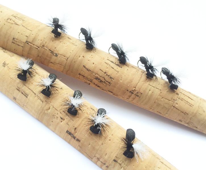 大特価 ハンドメイド リアルな蟻の形のフライ アント パラシュート #14 #16 ゆうパケットOK 完成品フライ アウトレット 10本セット