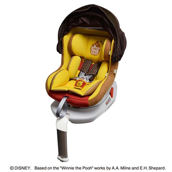 [ディズニー] ターンシート くまのプーさん【新生児~4歳】[プーさん チャイルドシート カーシート ベビーシート 回転式 ISOFIX 3点式ベルト メーカー保証1年 ベビー 赤ちゃん 新生児 おでかけ 車 ベビー用品 ベビーグッズ 出産祝い 育児用品 乳児 子育て]