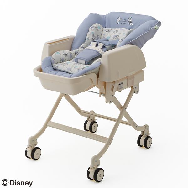 ディズニー ハイローラック ミッキー ドナルド ラック ベビー スイングベッド 代引き不可 ベッド ベビー用品 折りたたみ お昼寝 赤ちゃん 育児用品 新生児 出産祝い 乳児 高価値