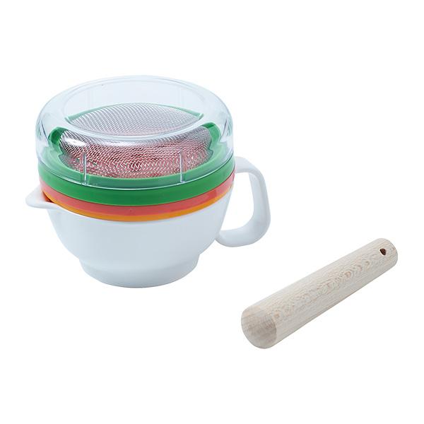 誕生日/お祝い 新着セール 店頭受取可 OSK 離乳食調理セット
