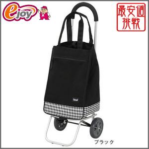 【送料無料】幸和 アルミ製 ショッピングカー PS-102 ブラック 【KOWA 幸和製作所】 DIY