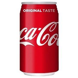 高価値 炭酸の刺激と独特の味わいです コカ 人気ブレゼント コーラ 350ml缶