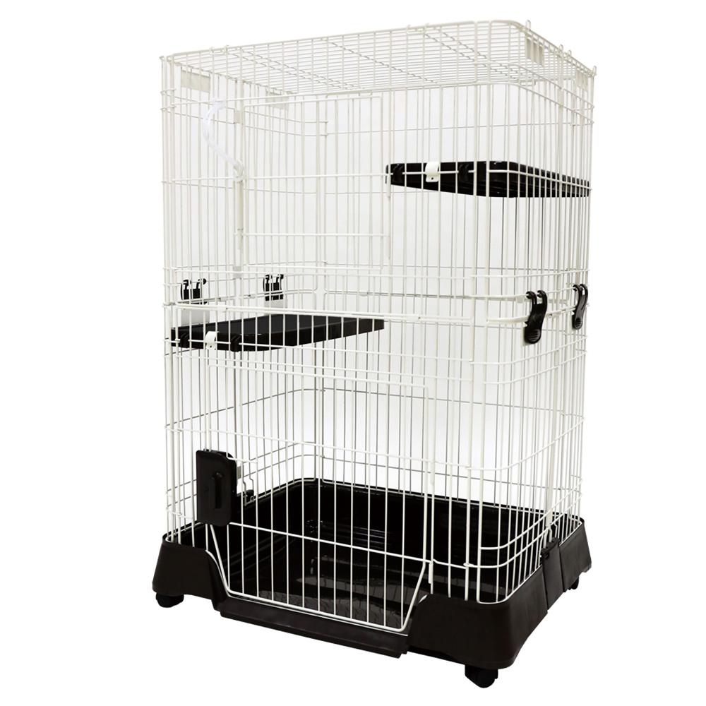猫用ケージ マルカン キティケージ 1000 ブラウン CT-451