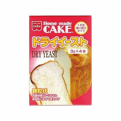 便利な使い切りタイプ 共立食品 12g ドライイースト 無料サンプルOK 新品未使用