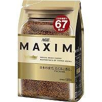 豊かな香りとコクによる深みのある味わい マキシム インスタントコーヒー 新生活 袋 135g 新作送料無料