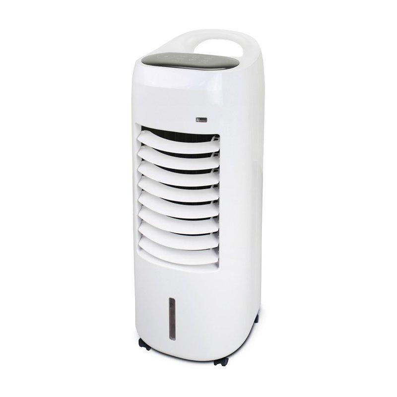 山善 冷風扇 扇風機 リモコン 取っ手付き FCR-HT40(W)