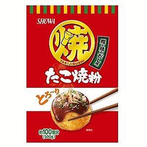 隠し味に丸鶏エキスを使用 昭和 商品 500g 上品 たこ焼粉