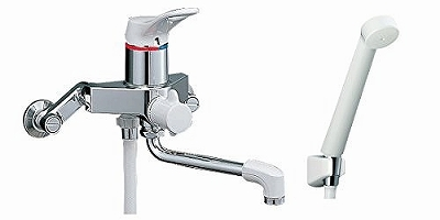 LIXIL(リクシル)INAX 壁付シングルレバーバス水栓 RBF-101D