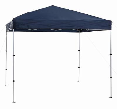タープテント 簡単 軽量 簡単組み立て テント ワンアクションアルミタープコンパクト250