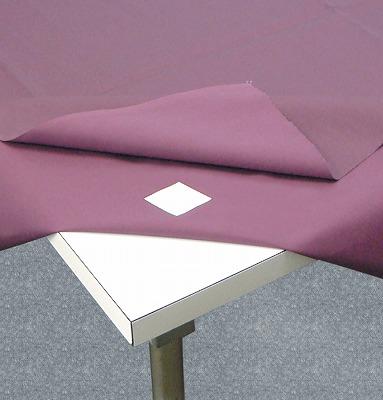 吸着タイプテーブルクロスのズレ防止シール 期間限定15%OFF テーブルクロスのズレ防止シール 4枚入り 約 5%OFF 4cm×4cm 4枚入 激安 激安特価 送料無料 サイズ