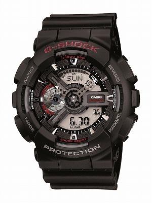 送料無料 CASIO G-shock メンズ腕時計 GA-110-1AJF メンズ G-SHOCK ジーショック 国内正規品