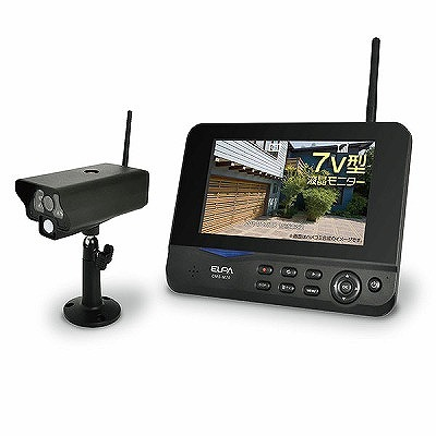 ワイヤレスカメラモニターセットCMS-7001