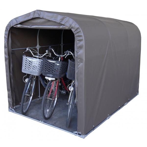 自転車ハウス 自転車収納 送料無料 南栄工業 サイクルハウス 3台用SB 一式 (骨組み+シート)