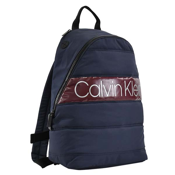 CALVIN KLEIN 15870 PUFFER バッグ バックパック リュックサック リュック ブランド ネイビー メンズ