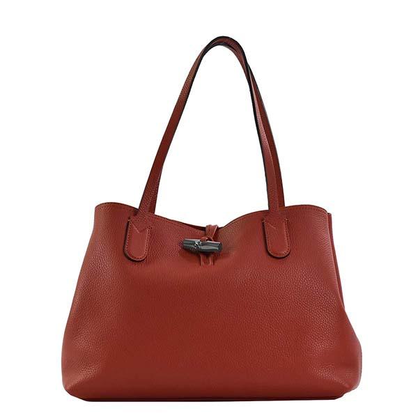 美品 20代 30代 40代 50代 女性 おしゃれ かわいい ロンシャン LONGCHAMP トートバッグ 2686 レッド ブランド ショルダーバッグ 赤 バッグ レディース 超人気 専門店