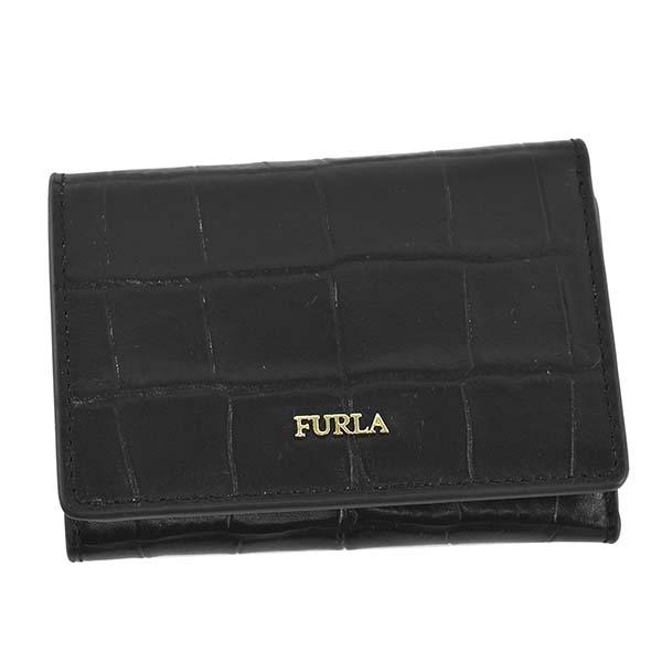 20代 30代 40代 50代 女性 おしゃれ かわいい フルラ FURLA ブラック PBP2 キャンペーンもお見逃しなく 財布 黒 レディース 三つ折り財布 折り財布 メーカー在庫限り品 ブランド