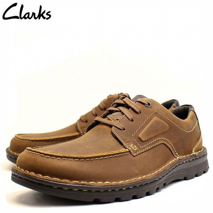 クラークス Clarks 靴 革靴 メンズ カジュアルシューズ 紐靴 本革 紳士靴 レザー ブラウン ブランド cl26128465 2018 クリスマスプレゼント 彼氏 男性向け