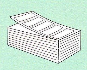 【SATO純正】PDラベル標準 白無地 強粘 【Aヨコ 折】15.000枚入【あす楽・送料無料】