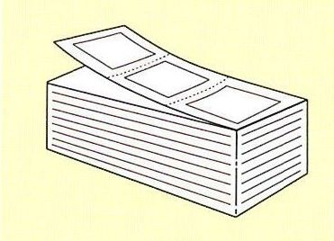 【SATO純正】PDラベル標準 白無地 強粘 【B縦 折/9,000枚入り】【あす楽・送料無料】