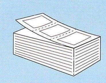 【SATO純正】PDラベル標準 白無地 強粘 【Cヨコ 折】9.000枚入【あす楽・送料無料】