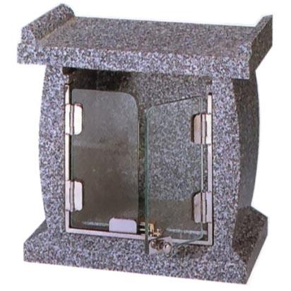 墓前香炉 (ガラス扉付)