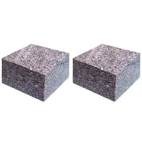 石製ローソク立 専用台石 【代金引換・後払い決済不可】【送料無料】