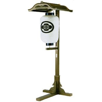 UACJ金属加工 アルミ製 提灯掛 スタンド式 N1型 【送料無料】【代金引換・後払い決済不可】