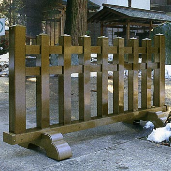 UACJ金属加工 アルミ製結界 3型 5尺 【送料無料】【代金引換・後払い決済不可】