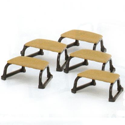 UACJ金属加工 アルミ製 本堂用椅子(正座補助椅子)The椅子2 5脚セット【送料無料・代引不可】