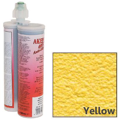 アケミ アンチスリップミックス 黄色 400mlAKEMI AKEPOX 4050 Anti-Slip Mix (簡単施工の高耐久滑り止め)